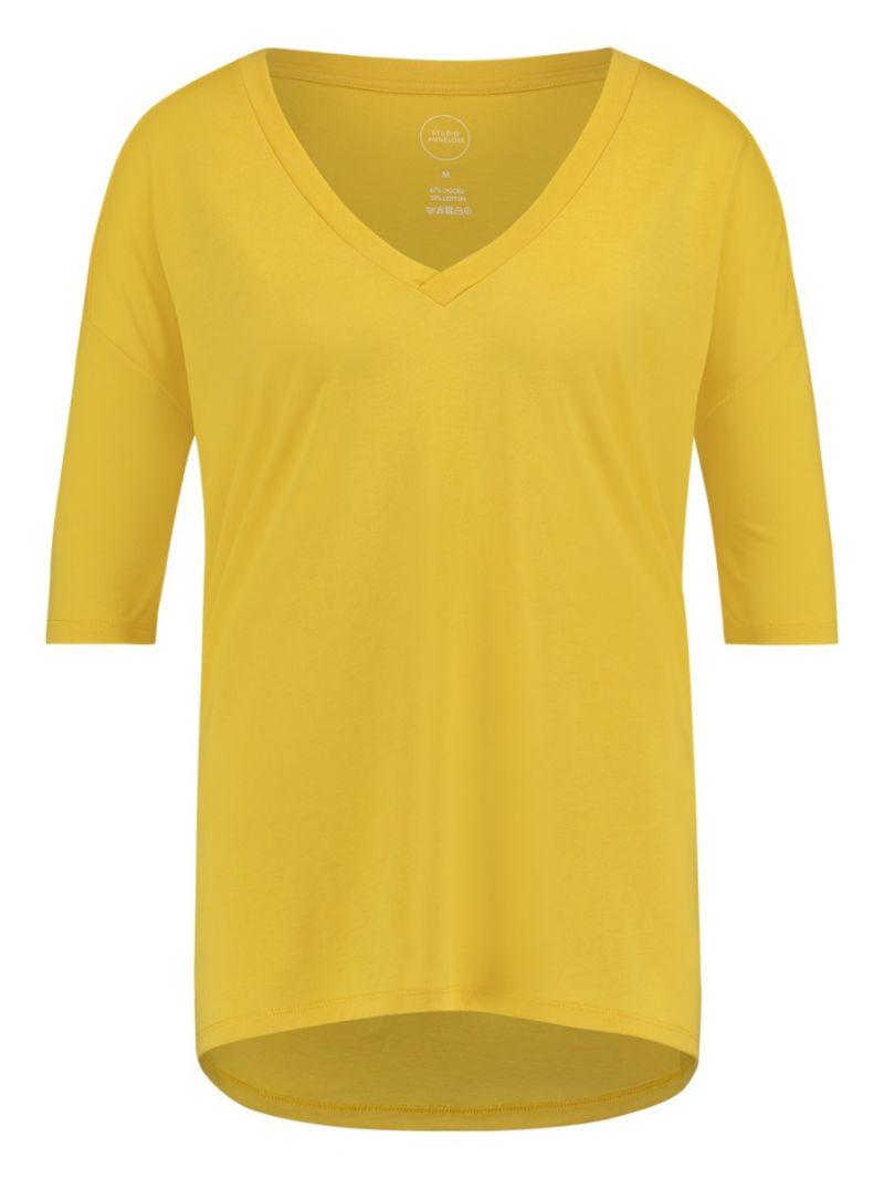 T-Shirt mit halben Ärmeln