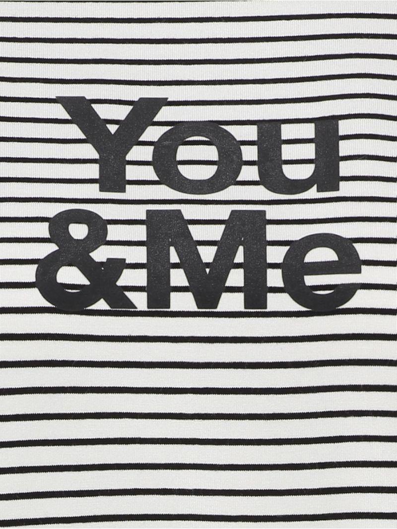 Streifenshirt Du und Ich