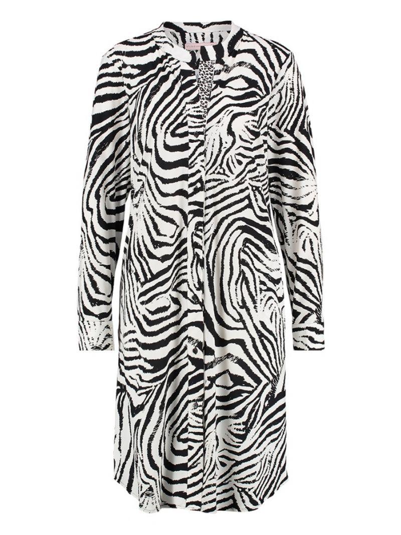 Tunikakleid mit Zebra-Print