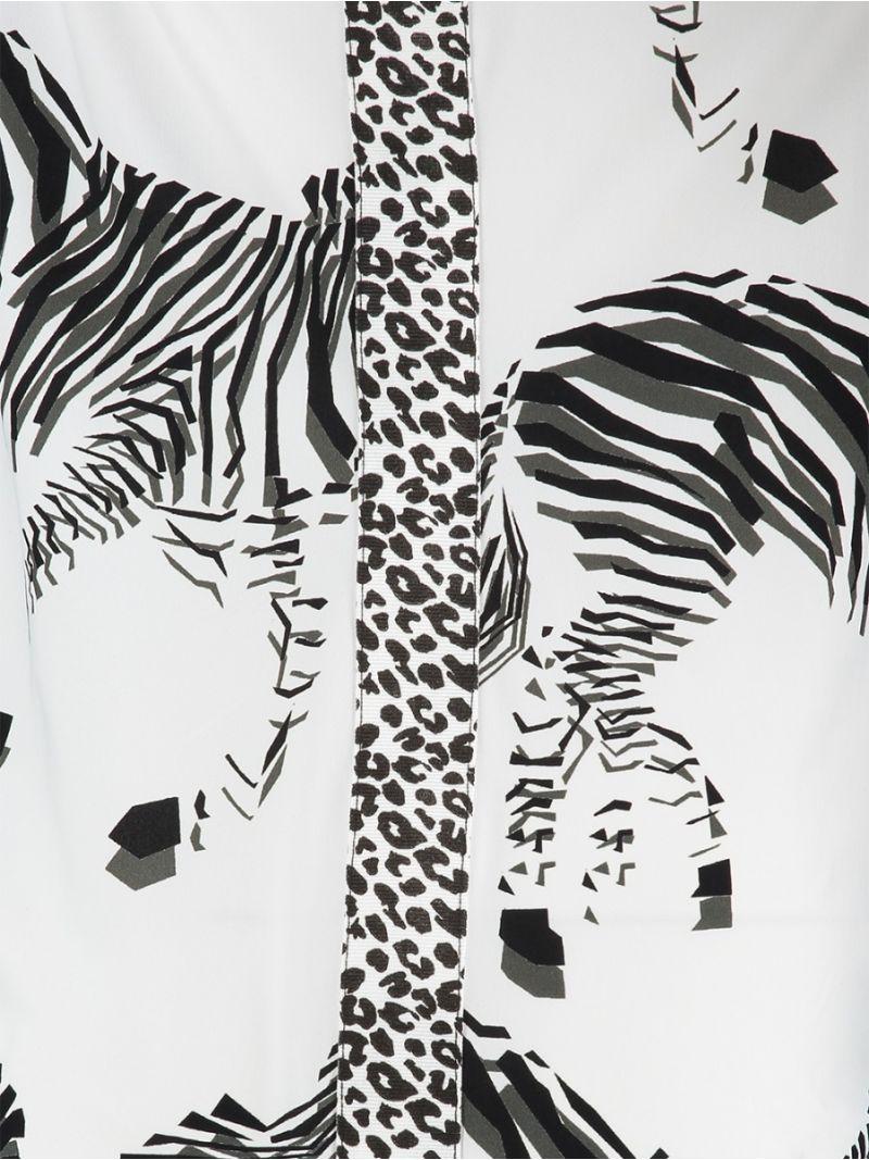 Zebra-Oberteil
