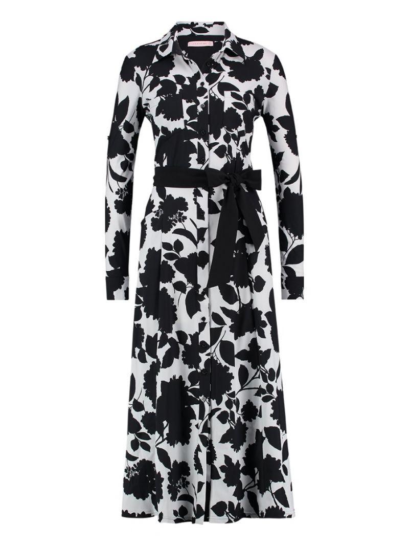 Reise-Kleid mit floralem Design