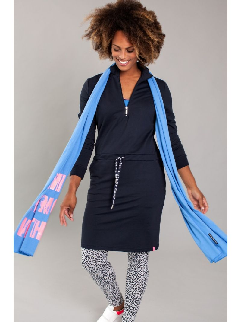 Kleid mit Reissverschluss