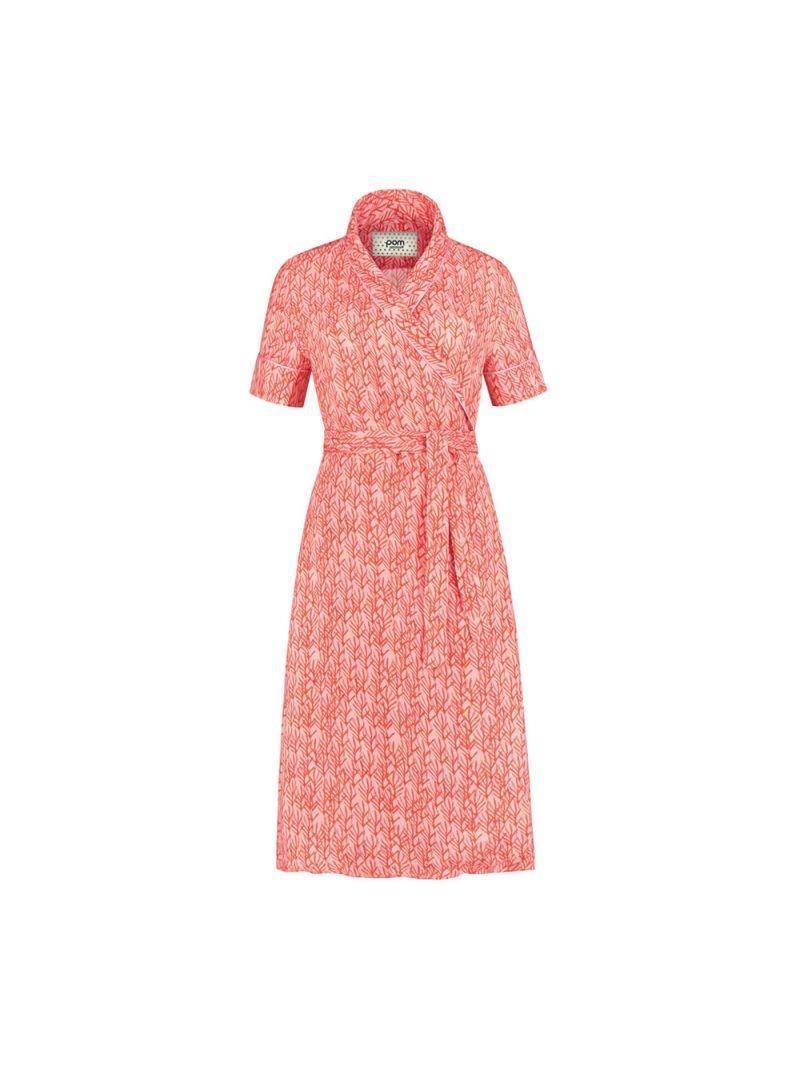 Coral Kleid